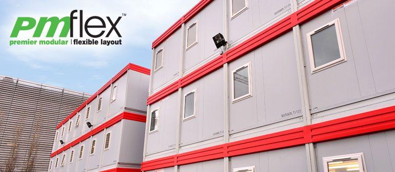 PMflex modular building