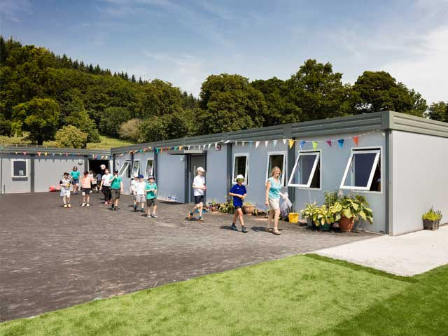 Temporary Classrooms Wernick