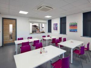 Wernick Head Office canteen